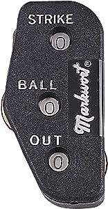 Markwort Plastic 3-Dial Umpire Indicator (Black)