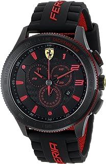 Ferrari 男式 0830138 Scuderia XX 硅胶腕表
