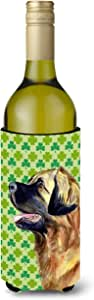 Caroline's Treasures LH9213-家长莱昂伯格圣帕特里克节三叶草肖像*饮料隔热器 适用于纤细罐 LH9213MUK,多色 多种颜色 750 ml LH9213LITERK