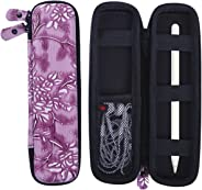 HDE 皮革保护套适用于苹果铅笔智能手写笔硬壳保护套,适用于 iPad Pro Pen、Samsung S3 S Pen、Livescribe 3 Smartpe