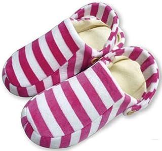 2WAY 带背带的室内鞋 ピンクxシロ -