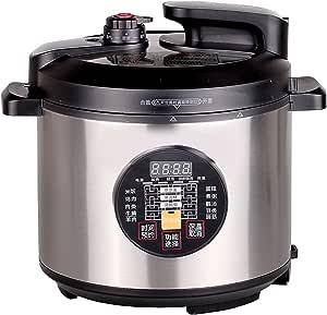 POVOS奔腾电压力煲PLFN5099T(5升电脑版/液晶显示/可立盖易拆洗/不粘锅24小时预约/超高温108度)
