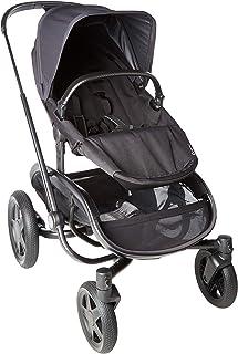 Quinny 酷尼 VNC 轻便高景观婴儿推车,双向可坐可躺,轻便可折叠,四轮独立悬挂避震系统,超大置物篮,适合0-4岁,黑色