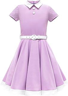 "BlackButterfly 儿童""Lucy""复古 Clarity 50 年代女童连衣裙"