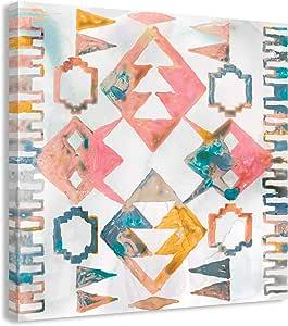 "Aztec Impressions II 帆布系列 多种颜色 24"" x 24"" 14422-01"
