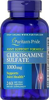 Puritan's Pride 普丽普莱硫酸盐葡糖胺 1000 毫克,维持关节*,240 粒速释胶囊