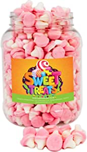 Mr Tubbys Jelly Mushrooms - Sweets n Treats Orange Label - Large Jar 1200g(Pack of 1)
