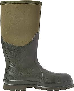 Muck Boots Unisex Adults' Chore Steel Toe Safety Wellingtons, Green (Moss Stmg), 10 UK 44/45 EU