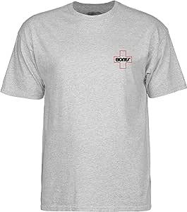 Bones Bearings Bones 瑞士轮廓口袋灰色 x 大号 T 恤,灰色