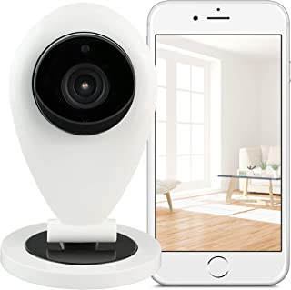 Hikam S6:攝像機用于保護家庭*的攝影機 (監控攝像機 帶人體識別功能 IP 攝像機 HD 帶德語軟件/指南/支持)