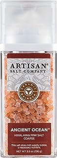 SaltWorks Hiwa Kai 黑色夏威夷風格海鹽,粗糙,工匠研磨器罐,5.5盎司 Himalayan 5.5 Ounce
