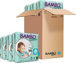 BAMBO 班博 自然系列 宝宝婴儿透气纸尿裤尿不湿 , Junior(5)码, 12-22kg, 27片/每件, 6件装