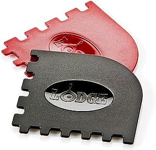 Lodge Manufacturing SCRAPERGPK 烤盘刮刀,4 个装尺寸:4 个装型号:(家用和厨房)