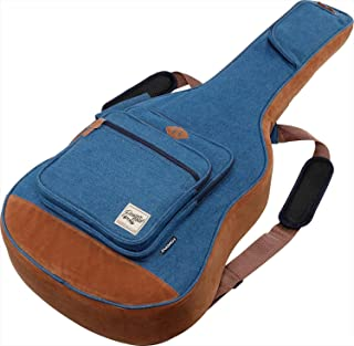 "Ibanez""个性与玩心""为概念的民谣吉他包 防护缓冲装备(牛仔蓝) IAB541D-BL"