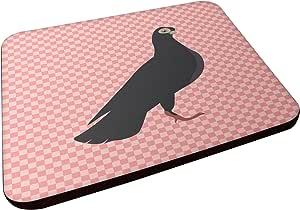 Caroline's Treasures BB7947FC 布达佩斯高飞机 粉色检查装饰杯垫,3.5,多色