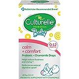 Culturelle 康萃乐 宝宝稳定+舒适益生元+洋甘菊滴 帮助减少宝宝的吸收不良的状况,0.29 fl. Oz/滴(8.5毫升)