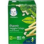 Gerber Graduates 蔬菜粉饼,2.64 盎司,10 只装 10份
