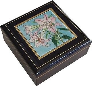 彩光舍 七宝烧 种类:正角宝石盒490g 12.5×12.5×7.5cm 021-02