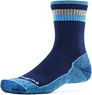Swiftwick- PURSUIT HIKE SIX- LT   袜子专为远足而打造   美利奴羊毛,轻质缓震船袜