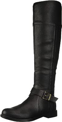 Kenneth Cole New York 女士时尚风马靴 黑色 5.5