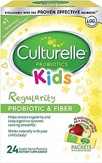 Culturelle 康萃樂 兒童規律性益生元和纖維膳食補充劑| 幫助恢復規律并保持兒童機體系統的平穩運行* | 與兒童的身體自然融合* | 24包