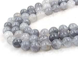 COIRIS 天然宝石圆形散装宝石珠 用于珠宝制作 & DIY 设计 RS-1063 10mm RS-1029-1101