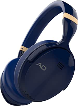 AO Active Noise Cancelling Wireless Bluetooth Headphones Over Ear - M5