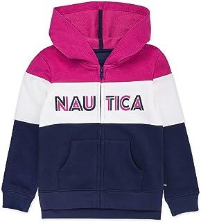 Nautica 诺帝卡女童长袖连帽衫