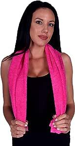 Turquoise Textile 12x44 * 土耳其天然柔软棉质健身房,健身,运动,瑜伽毛巾(3 件装)