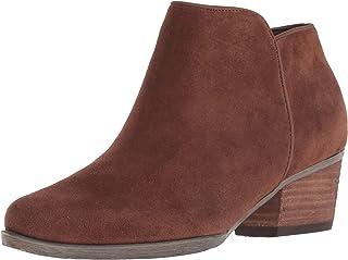 Blondo Villa 女士及踝靴 Chestnut 麂皮 12 M US