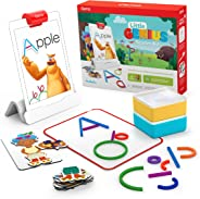 Osmo 适于iPad的小天才早教套装-4个动手学习游戏-学龄前儿童-解决问题能力和创造力(包括Osmo iPad 底座)