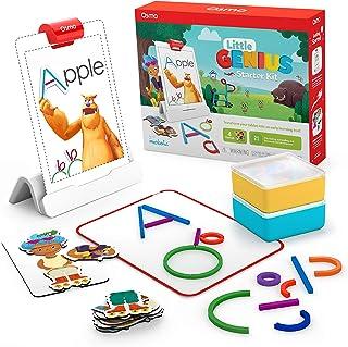 Osmo 适用于iPad的小天才入门套件-4个动手学习游戏-3-5岁-解决问题,语音和创造力(包括Osmo iPad 底座)