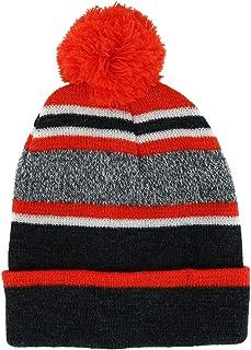 Densley & CO 儿童 4-6 粗条纹无檐小便帽