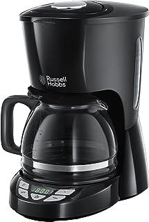 Russell Hobbs 22620-56 咖啡机 - 咖啡机(咖啡、滴水咖啡机、地产咖啡、咖啡、黑色、果冻)