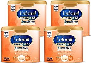 Enfamil 美赞臣铂睿 Neuropro 敏感婴儿配方奶粉,19.5盎司/约553克 罐装,4件