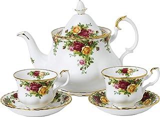 Royal Albert 40034978 Old Country Roses 茶壶,茶杯和茶托,1.25 升