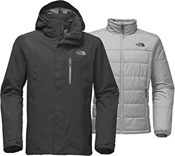 The North Face 男式 Carto Triclimate 夹克 中 灰色 NF0A33PT03B