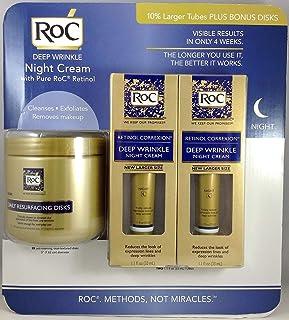 ROC 视黄醇 Correcxion 深层抗皱紧肤霜 1.1盎司,2 包 + 附赠 28日常修复盘