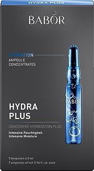 BABOR 芭宝 安瓿 精华 Hydra Plus 玻尿酸安瓿 保湿精华液 高科技面部护理 适合干性皮肤 7 x 2毫升