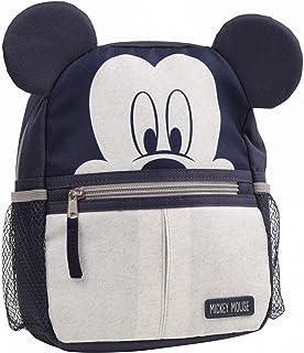 Disney Mickey Mouse 男童迷你背包,配有*带和动物耳朵,麻灰色