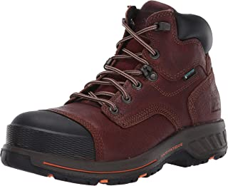 "Timberland PRO 男士 Helix HD 6"" 复合鞋头防水工业和建筑鞋"