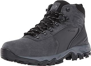 Columbia 男士 Newton Ridge Plus Ii 麂皮防水宽徒步鞋