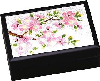彩光舍 摆件 - 8×12×4厘米 彩光舍 七宝烧 小盒 新樱(小) 120-13