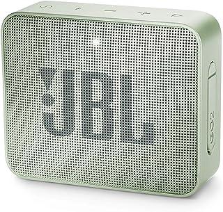 JBL GO 2 防水低音炮/小音箱,免提功能,一次充电可播放5小时,薄荷色