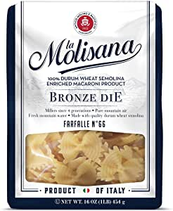 La Molisana Farfalle FQ 66, 1 Pound (Pack of 12)