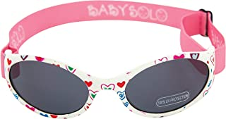 Baby Solo Original 2.0 婴儿太阳镜,*,柔软,*可调节,适合 0-36 个月的宝宝