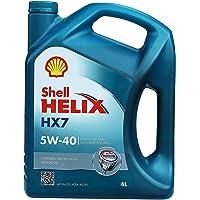 Shell 壳牌 Helix HX7 5W-40 蓝喜力合成机油 4L装 (亚马逊进口直采, 荷兰品牌)