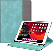 Fintie 旋转保护套适用于 iPad 7 代 10.2 英寸 2019 - [内置铅笔架] 360 度旋转智能保护支架盖自动*/唤醒