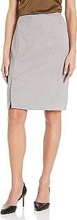 Calvin Klein 女士斜纹百褶裙