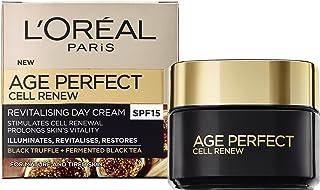 L'Oreal Paris 巴黎欧莱雅 Age Perfect Cell Renew 金致臻颜系列奢养肌活日霜,SPF15,50毫升